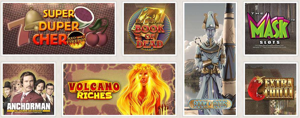 Verschiedene Casino Spiele bei Cherry