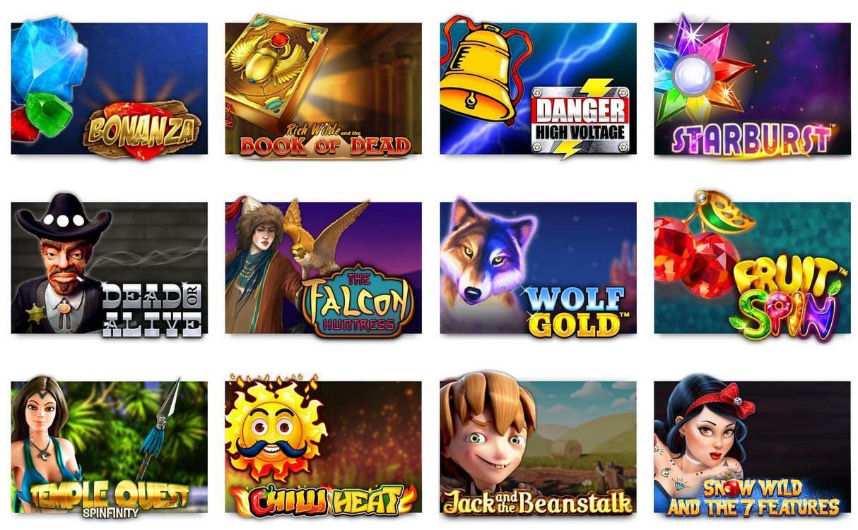 Verschiedene Casino Spiele bei SlotsMillion