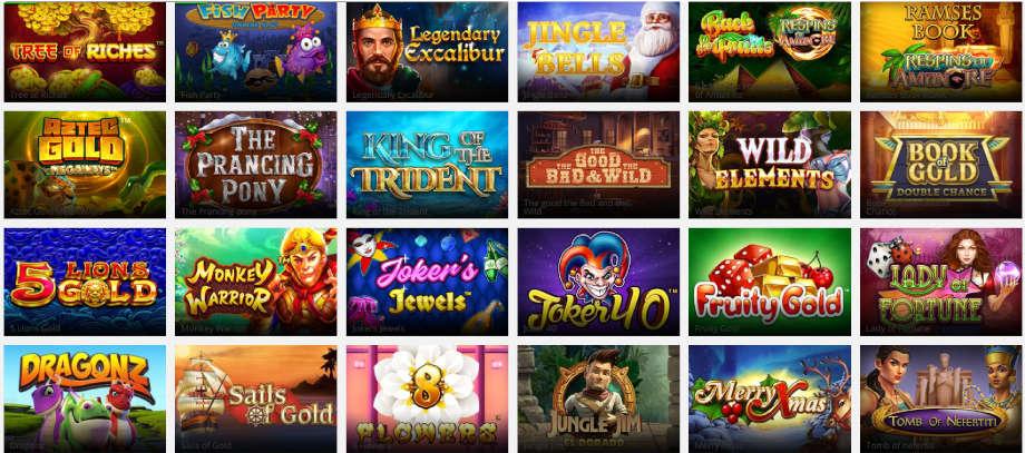 Verschiedene Casino Spiele bei digiBet