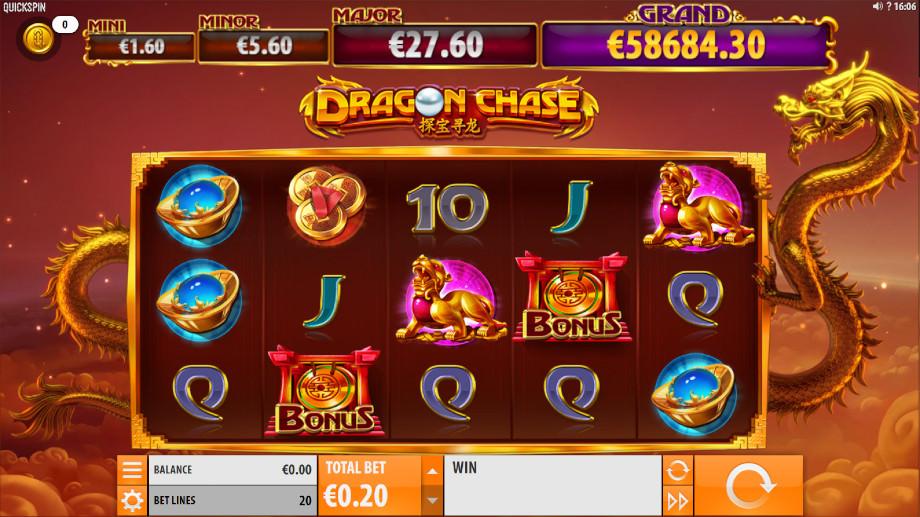 Der neue Dragon Chase Slot
