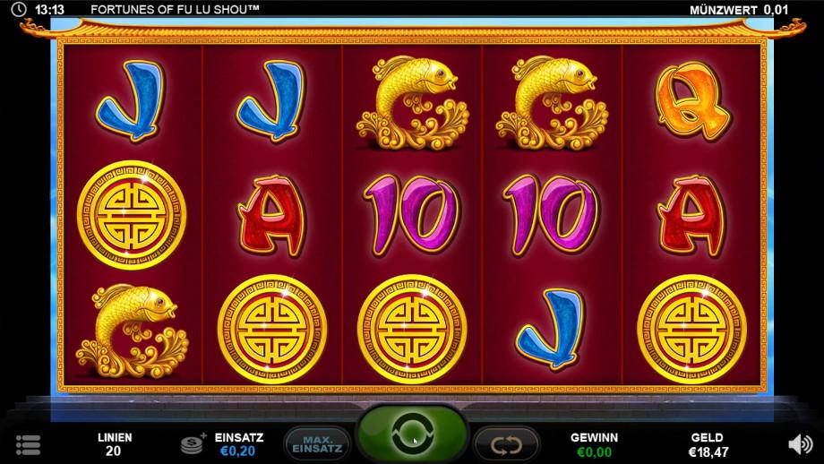 Fortunes of Fu Lu Shou von Plank Gaming