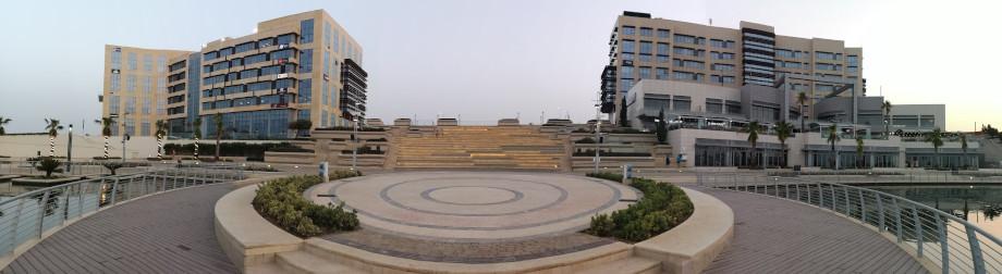 Panorama Bild von Smart City