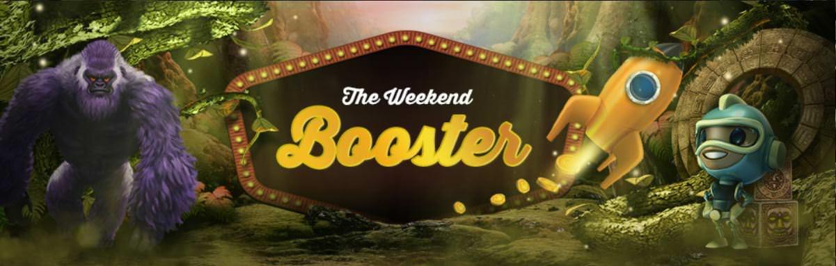 Der Weekend Booster bei Videoslots