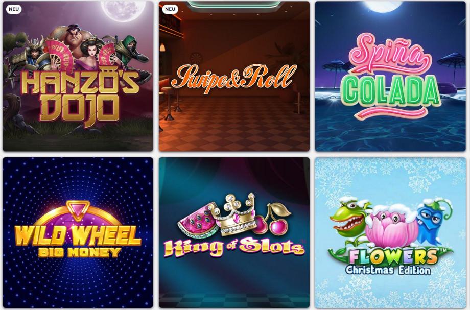 Verschiedene Casino Spiele bei Wetten.com