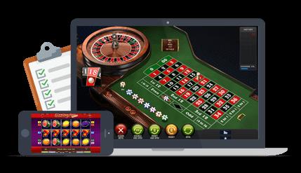 Teaserbild Online Casinos vergleichen