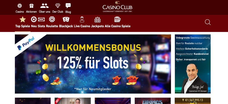 Casino Club Titelbild