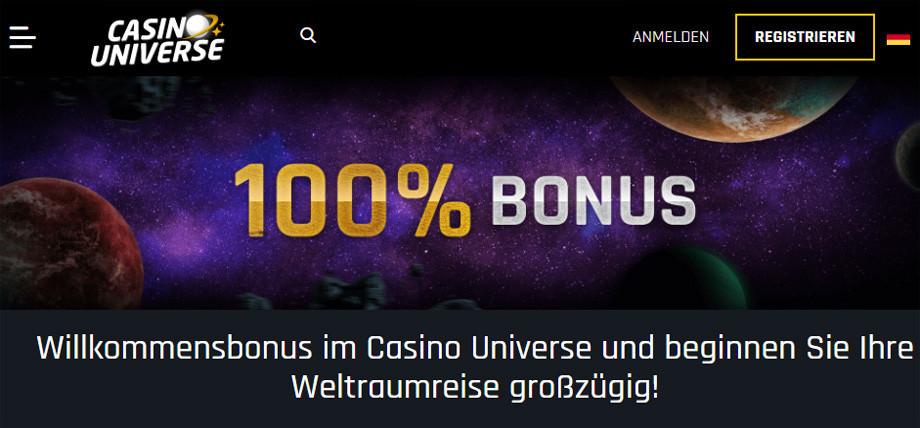 Casino Universe Titelbild