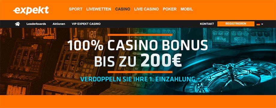 Expekt Casino Titelbild
