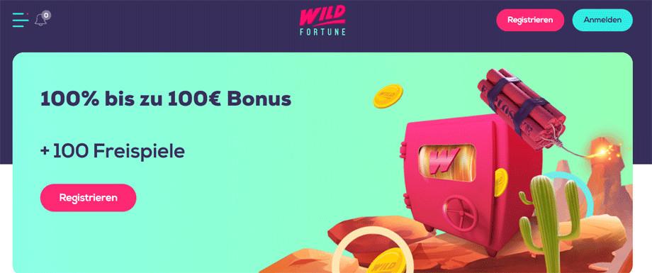 Wild Fortune Titelbild