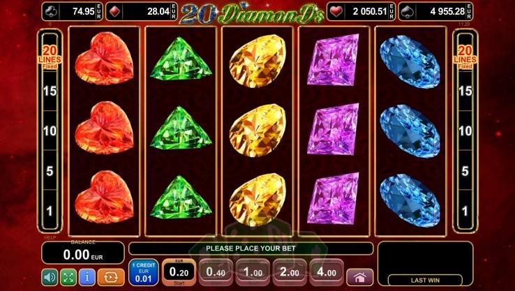 20 Diamonds Titelbild