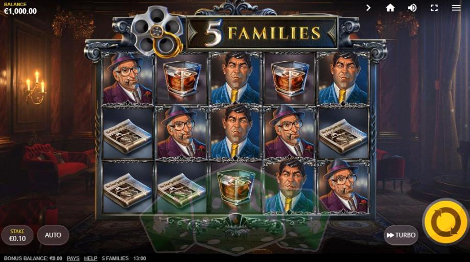 5 Families Titelbild