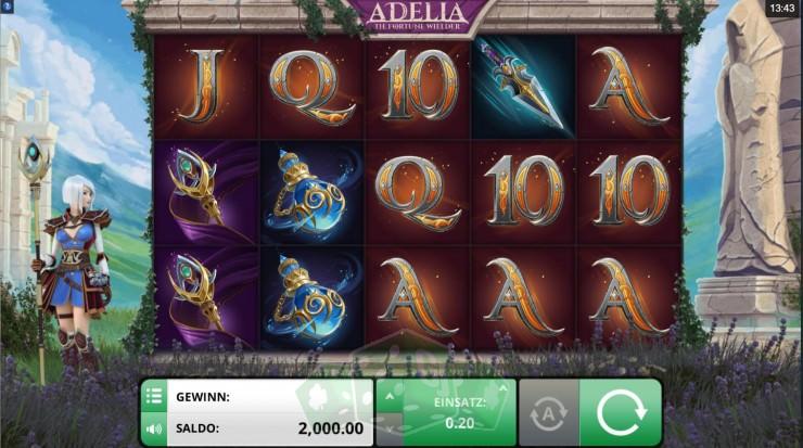 Adelia The Fortune Wielder Titelbild