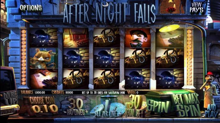 After Night Falls Titelbild