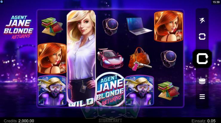 Agent Jane Blonde Returns Titelbild