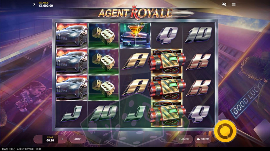 Agent Royale Titelbild