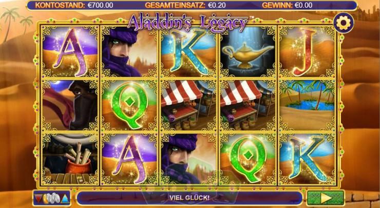 Aladdins's Legacy Titelbild