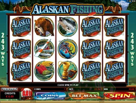 Alaskan Fishing Titelbild