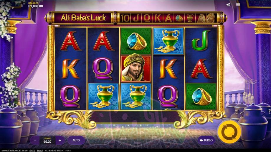 Ali Baba's Luck Titelbild