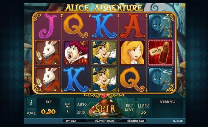 Alice Adventure Titelbild