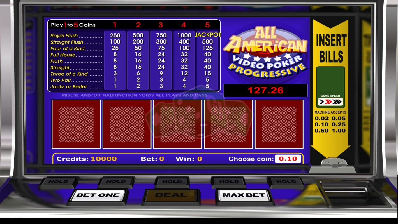 american poker spielen