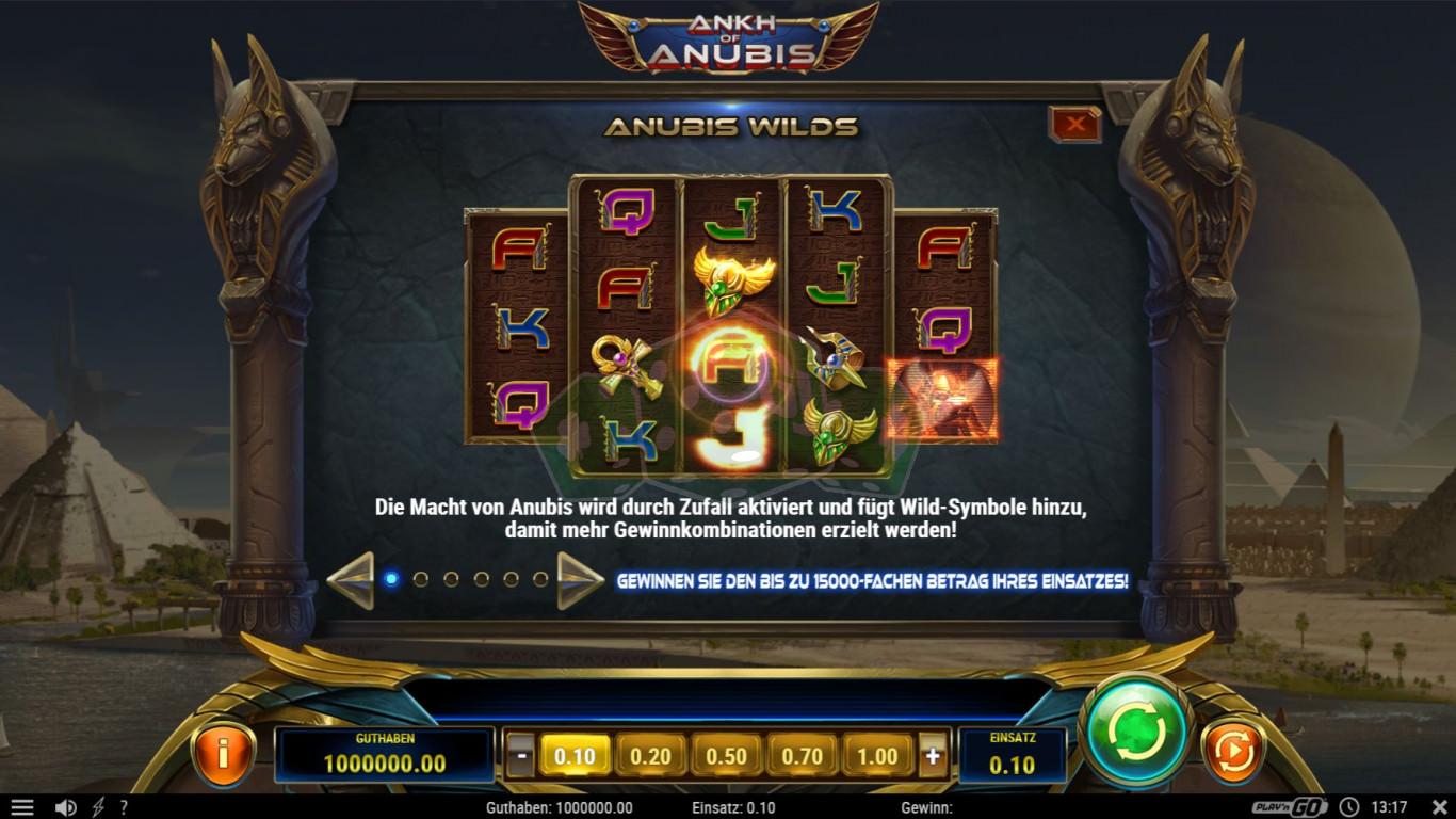 ankh of anubis™ play'n go  jetzt online spielen