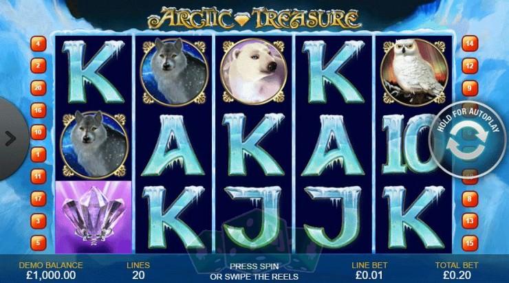 Arctic Treasure Titelbild