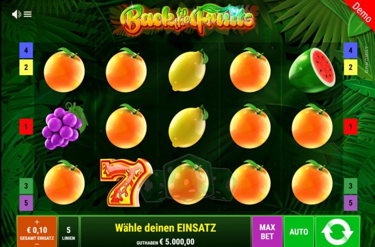Back to the Fruits Titelbild
