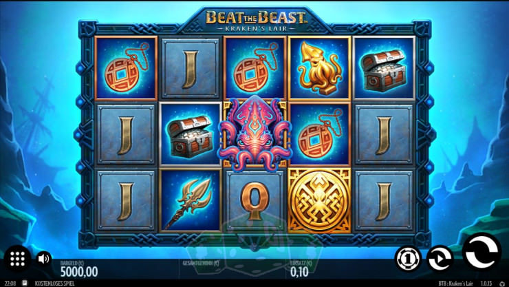 Beat the Beast: Kraken's Lair Titelbild