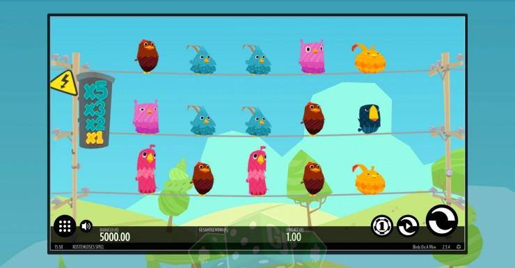 Spielen Sie Birds On A Wire Kostenlos Im Demo Mode Von Thunderkick