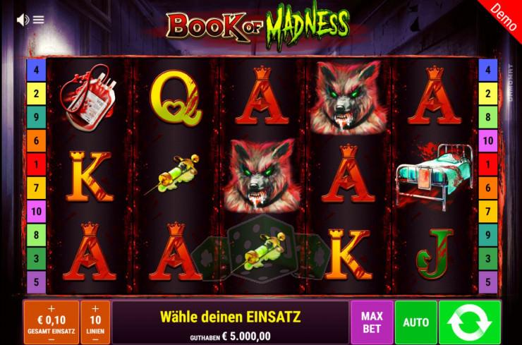 Book of Madness Titelbild