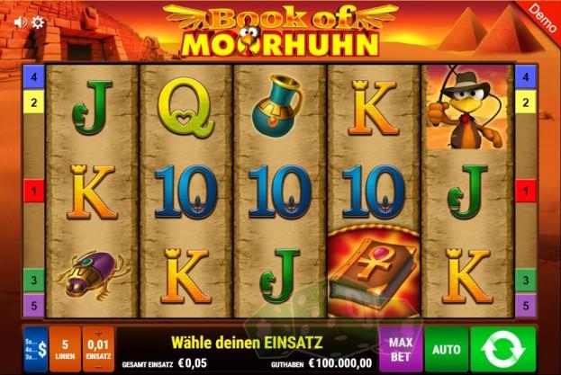 Book of Moorhuhn Titelbild