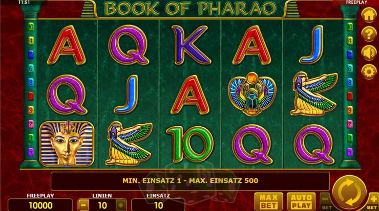 Book of Pharao Titelbild