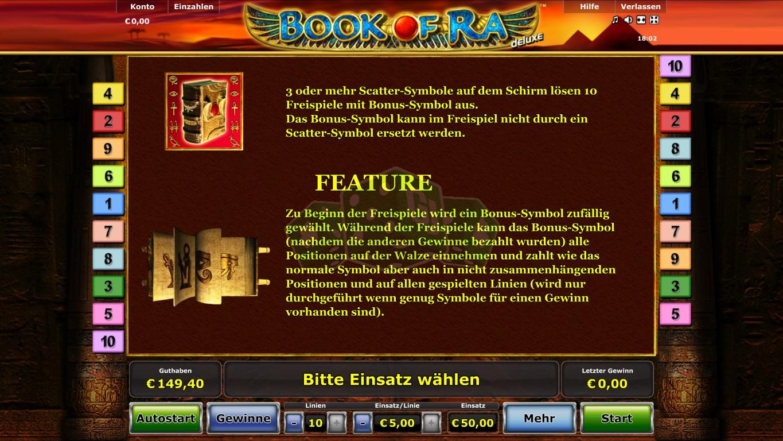 book of ra deluxe demo spielen