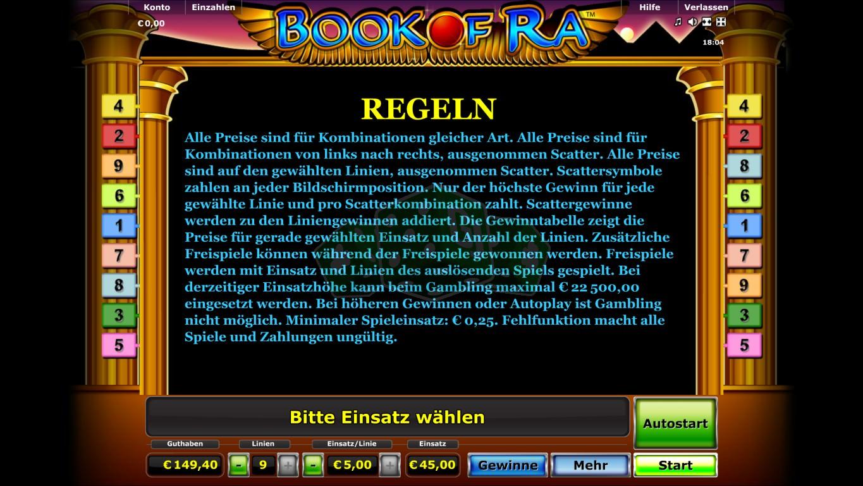 Book Of Ra Kartenrisiko