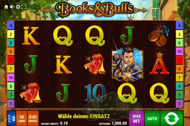 Books & Bulls Titelbild