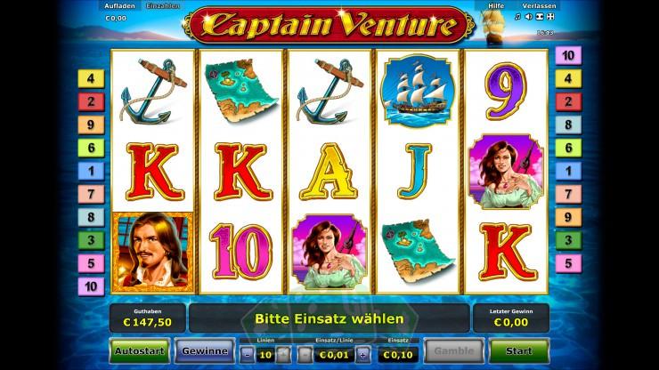 Captain Venture Titelbild