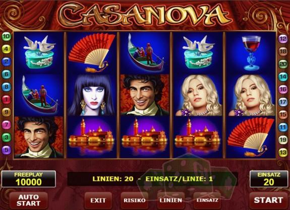 Casanova Titelbild
