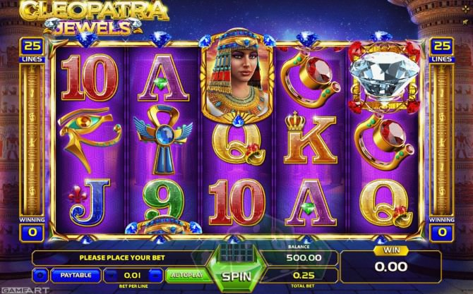 Cleopatra Jewels Titelbild