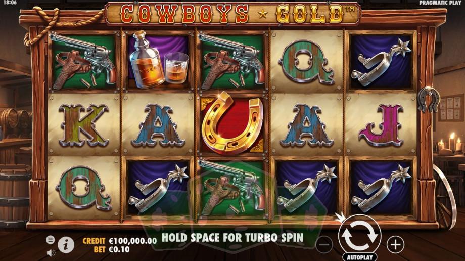 Cowboys Gold Titelbild
