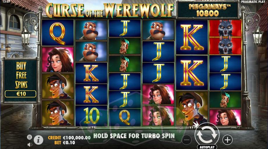 Curse of the Werewolf Megaways Titelbild