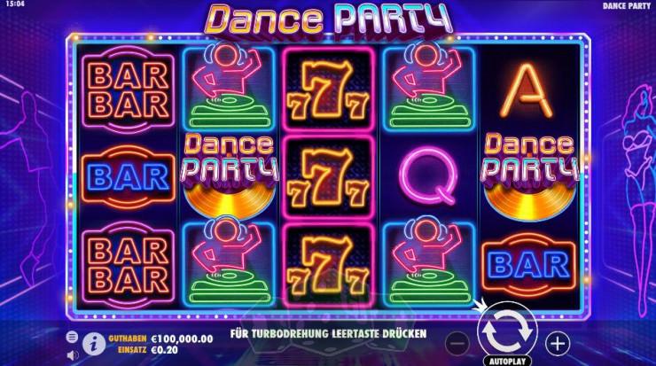 Dance Party Titelbild