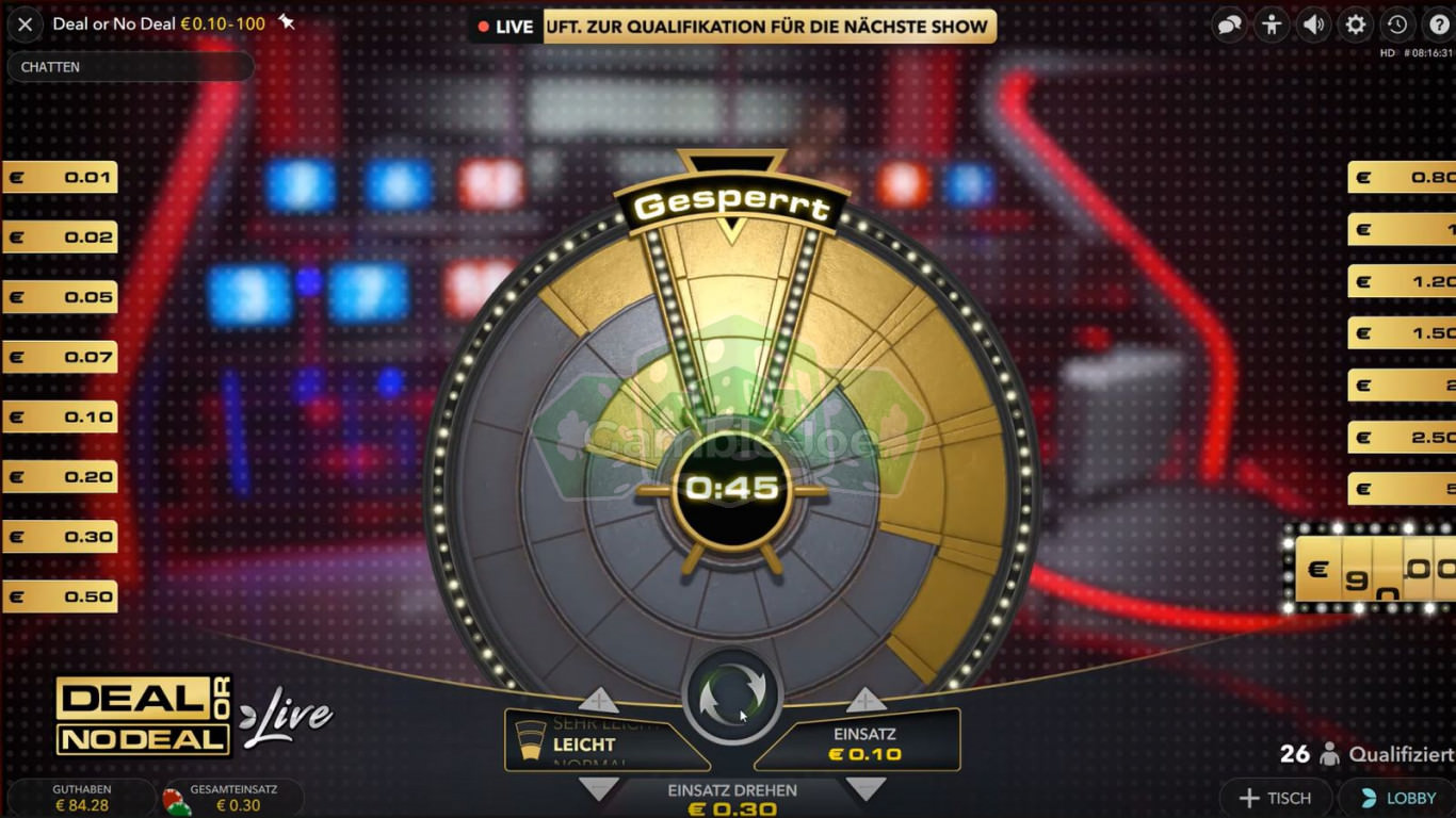 Deal Or No Deal Online Spielen