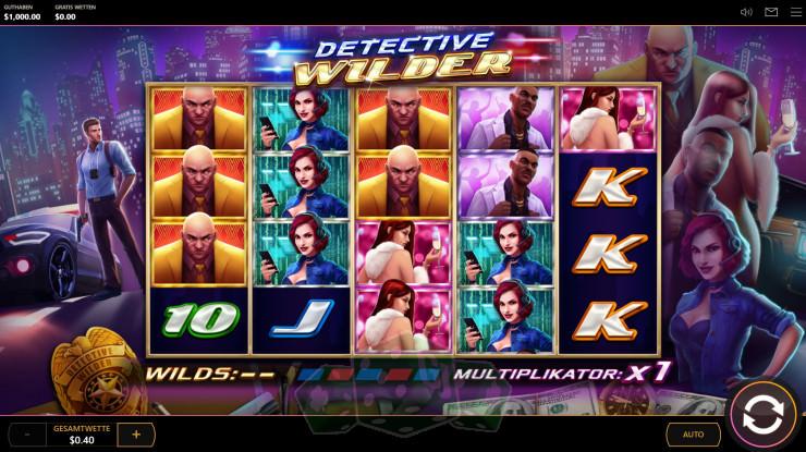 Detective Wilder Titelbild
