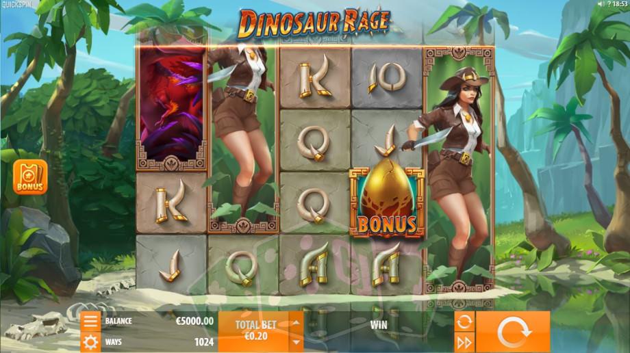 Dinosaur Rage Titelbild