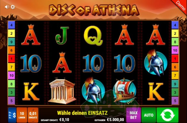 Disc of Athena Titelbild