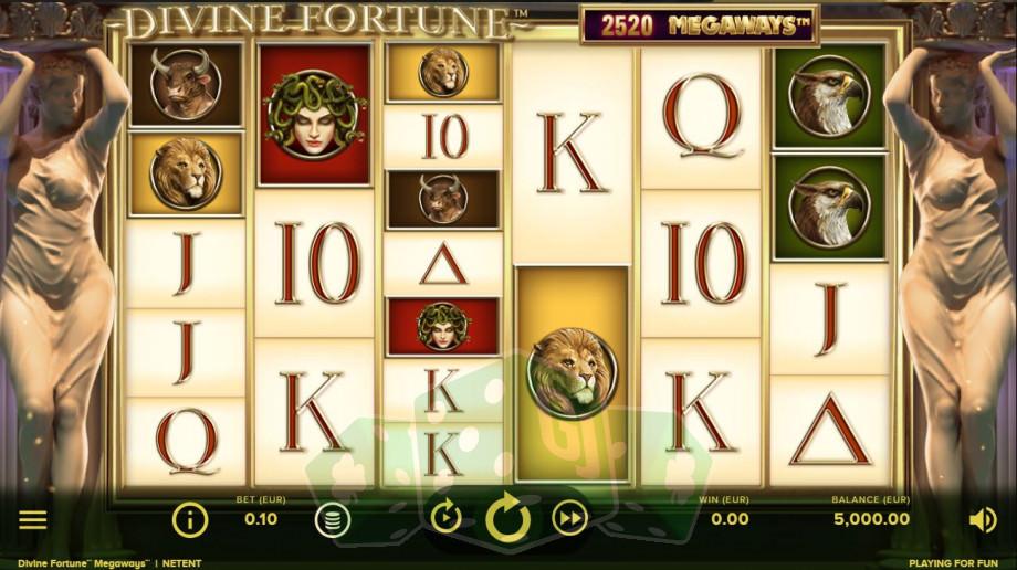 Divine Fortune Megaways Titelbild
