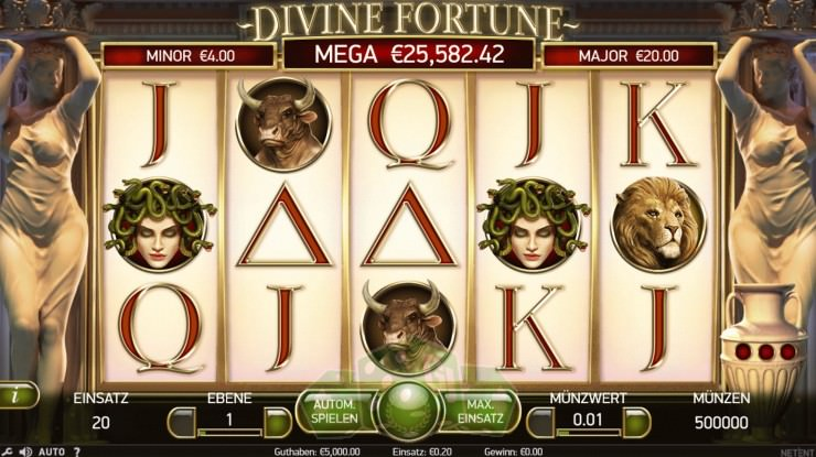 Divine Fortune Titelbild