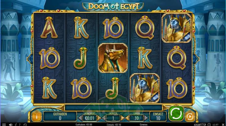 Doom of Egypt Titelbild