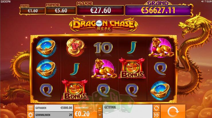 Dragon Chase Titelbild