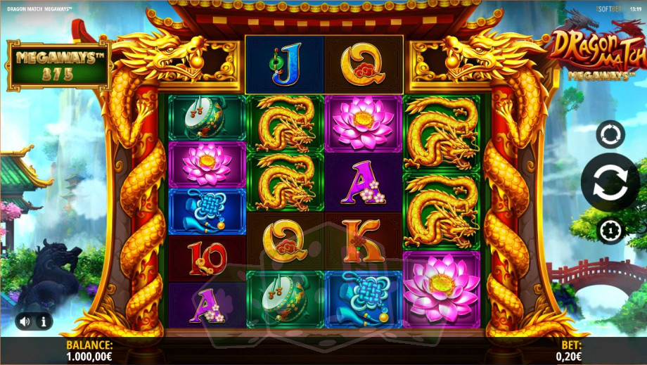 Dragon Match Megaways Titelbild